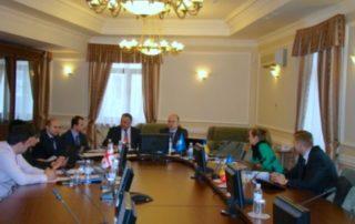 6-е заседание Рабочей группы ГУАМ по энергетике в Киеве