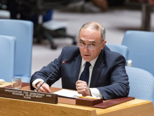 Генеральный секретарь ГУАМ Эфендиев принял участие в дебатах Конфликты в Европе Поддержка международного мира и безопасности