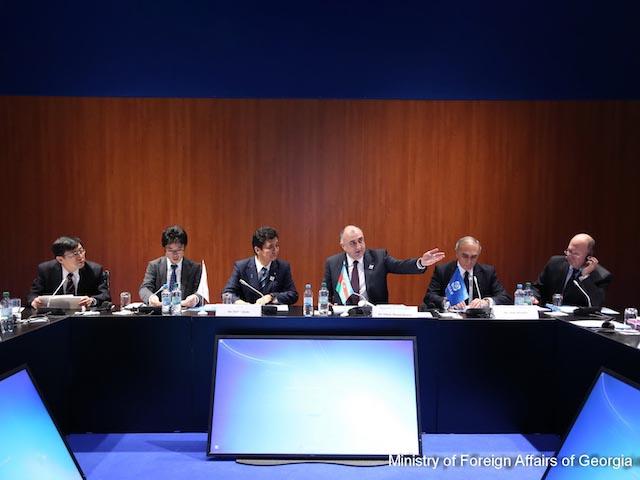 4-я встреча Совета министров иностранных дел ГУАМ-Япония