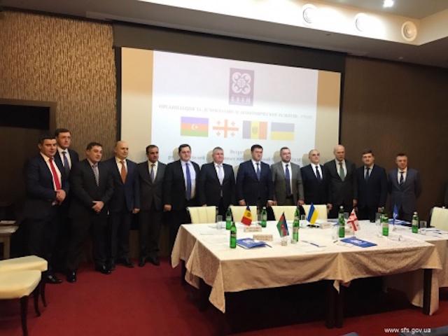 Рабочая встреча глав таможенных администраций государств-членов ГУАМ