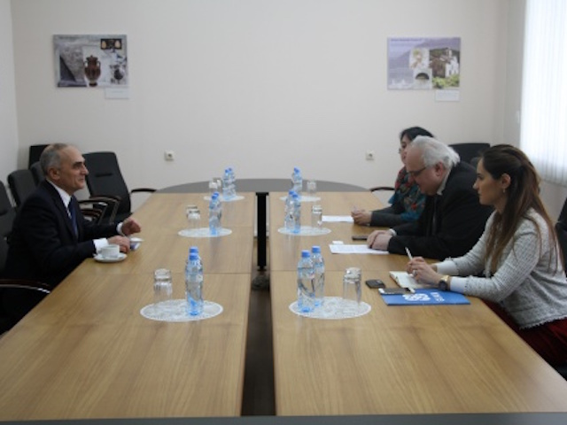 GUAM Secretary General's working visit to Georgia