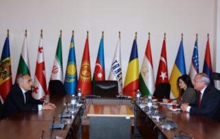 Встреча Генерального секретаря ГУАМ с Генеральным секретарём ТРАСЕКА