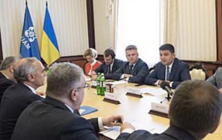Meeting of the Prime Minister of Ukraine with the Ambassadors of the GUAM Member States and GUAM Secretary General