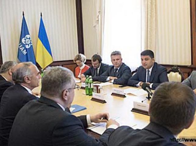 Встреча Премьер-министра Украины с Послами государств-членов ГУАМ и Генеральным секретарем ГУАМ