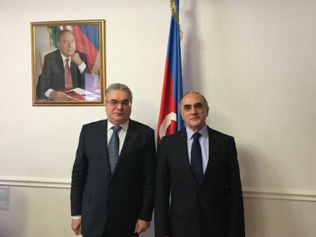 GUAM Secretary General met with Chargé d'Affaires of the Embassy of Azerbaijan in Ukraine