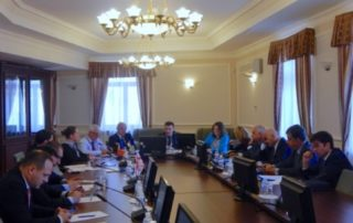 "1-е заседание Комитета Парламентской Ассамблеи ГУАМ и парламенсткое заседание ""Безопасность в Европе: текущая ситуация и уроки для политиков"""