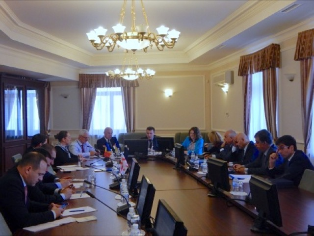 """1st Meeting of the GUAM PA's Committee and Parliamentary meeting """"Security in Europe: current situation and lessons for policy makers"""""""