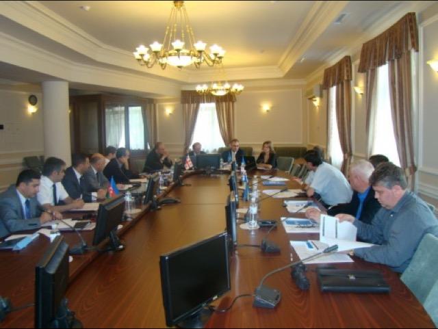 1-е заседание Рабочей подгруппы ГУАМ по правовой статистике