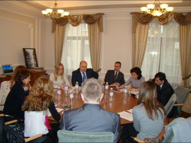 14-е заседание Рабочей группы ГУАМ по туризму в Киеве
