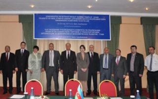 14-е заседание Руководящего комитета по реализации Проекта по содействию торговле и транспортировке (ПСТТ) ГУАМ в Баку