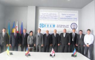 15-е заседание Руководящего Комитета Проекта ГУАМ по содействию торговле и транспортировке в Батуми