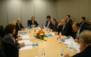16th Meeting of the Council of Ministers of Foreign Affairs of GUAM in Vilnius