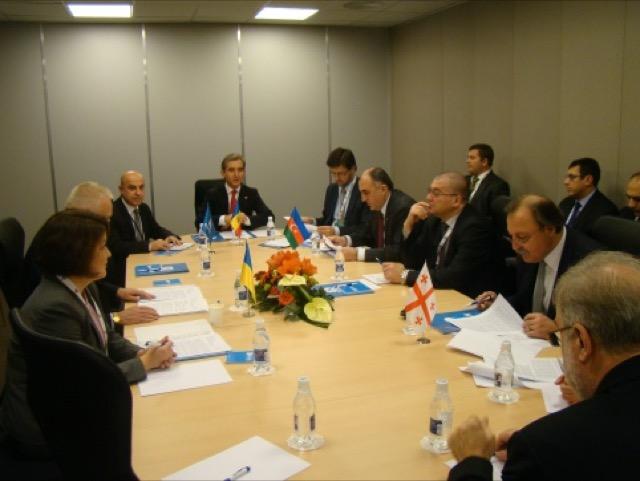 16-е заседание Совета министров иностранных дел ГУАМ в Вильнюсе