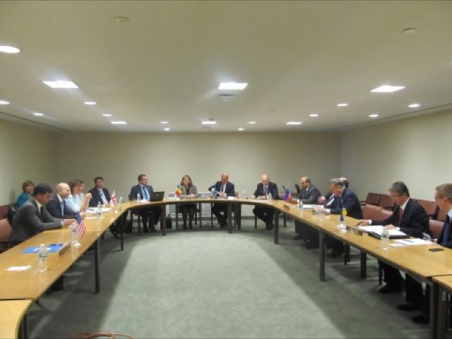 23-е заседание Совета Министров иностранных дел ГУАМ в Нью-Йорке