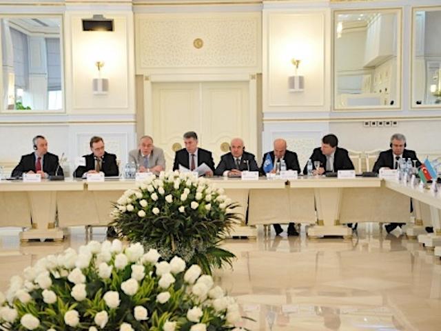 5-е заседание Парламентской Ассамблеи ГУАМ в Баку