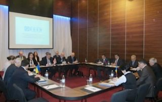 On February 13, 2013, Tbilisi hosted the 8th Meeting of the Working Group on Transport at the level of Heads of GUAM member state institutions with the participation of the GUAM Secretariat. Participants in the meeting adopted the Tbilisi Declaration by Heads of the GUAM Member States' institutions responsible for transport development, and approved the Development Concept for the GUAM Transport Corridor. The Parties expressed high regards for the work that experts have carried out with respect to the Concept's development and implementation. Participants in the meeting expressed gratitude to the Georgian Party for their hospitality and excellent organisational work. The Parties agreed to hold the next meeting of the Working Group at the GUAM Secretariat in Kyiv in the first half of 2013. The exact date will be agreed upon through diplomatic channels.
