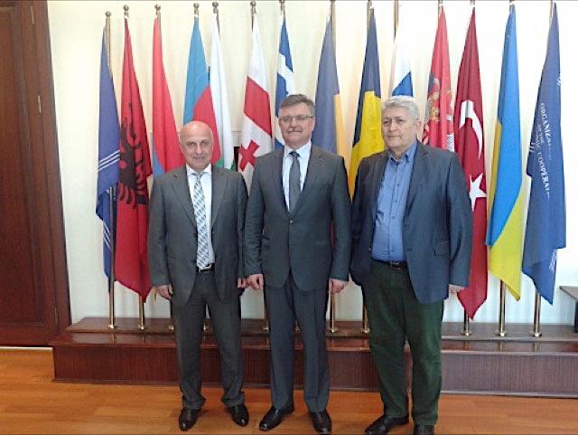 Генеральный секретарь ГУАМ встретился с руководителями Секретариатов региональных международных организаций в Стамбуле