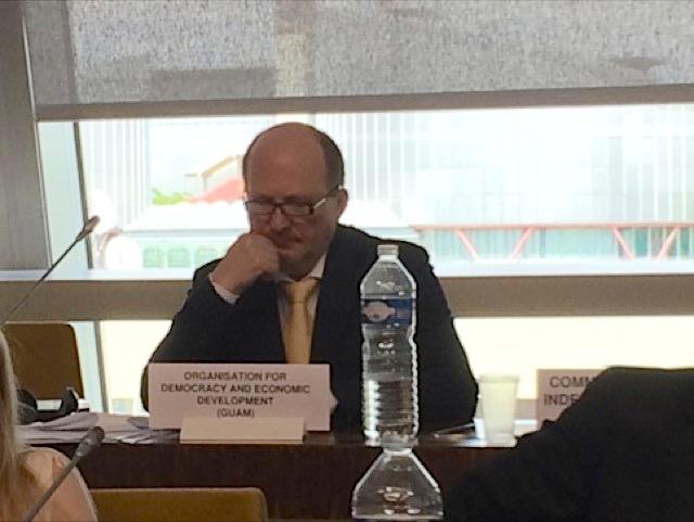 Координатор программ Секретариата ГУАМ принял участие в работе 32-го заседания Комитета экспертов по терроризму Совета Европы