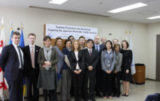 """Seminar for GUAM member states on """"Tourism Promotion and Marketing: Targeting the Japanese Market"""" in Tokyo"""