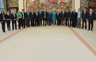 Совместное заседание ПА ГУАМ, Балтийской Ассамблеи, ПА Бенилюкса и Вышеградской четверки в Баку