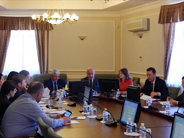 Встреча делегации Верховной Рады Украины в Парламентской Ассамблее ГУАМ с Генеральным секретарем ГУАМ
