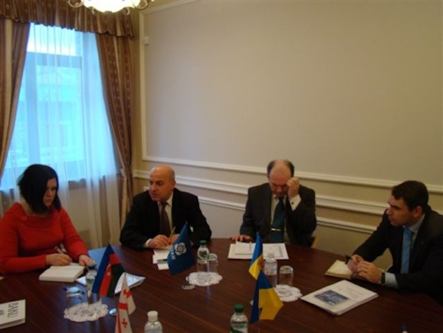 The Meeting of representatives of GUAM member-states in Kyiv on March 11,2009
