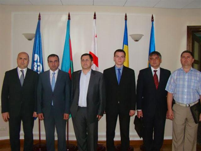Встреча руководителей департаментов по информационным технологиям таможенных органов государств-членов ГУАМ