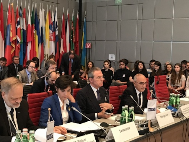 GUAM Secretary General addressed the Permanent Council of the OSCE