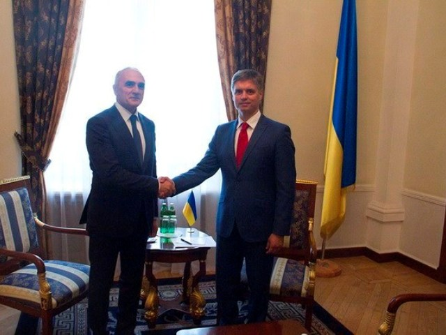 Встреча Генерального секретаря ГУАМ и Первого заместителя Министра иностранных дел Украины