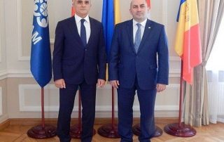 Meeting of GUAM Secretary General and Ambassador Extraordinary and Plenipotentiary of Georgia to Ukraine