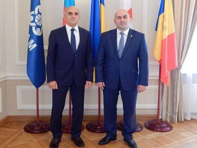 Встреча с Чрезвычайным и Полномочным Послом Грузии в Украине