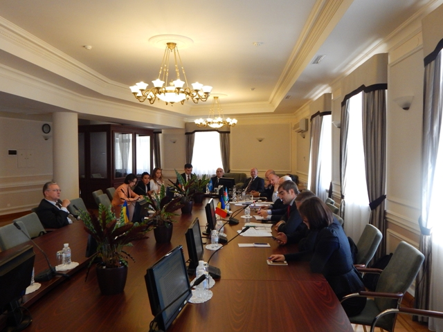43-е заседание Совета национальных координаторов ГУАМ