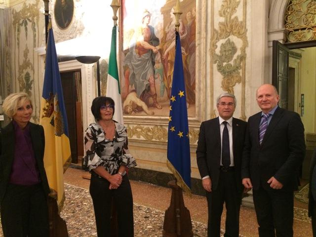 Координатор программы ГУАМ принял участие в Aquileia EuroRegion