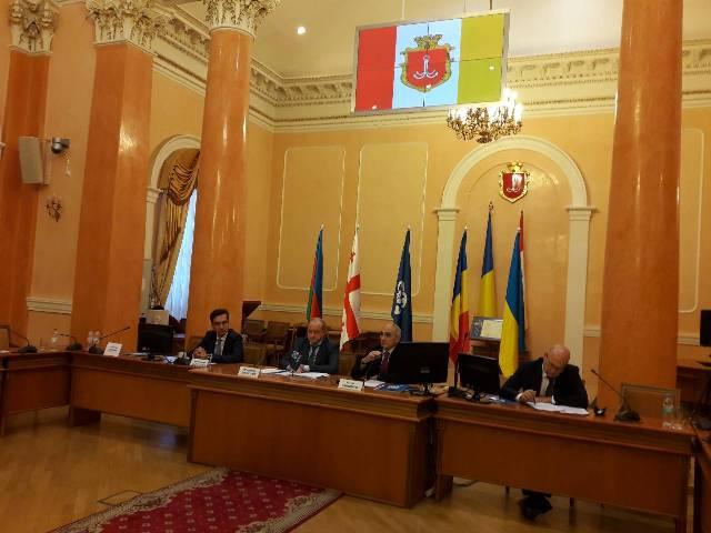 Учредительное заседание Ассоциации делового сотрудничества ГУАМ