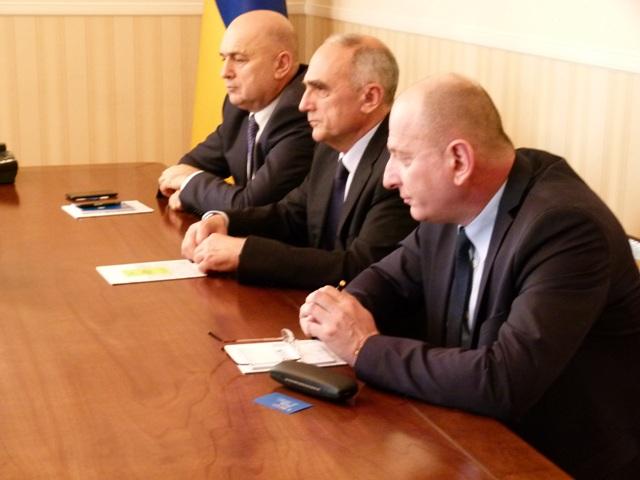 Встреча Заместителя министра образования и науки Украины с Генеральным секретарем ГУАМ