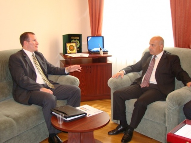 Генеральный секретарь ГУАМ встретился с заместителем помощника директора программы ИСИТАП Минюста США Дюкотом