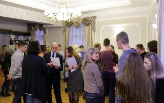 Встреча Генерального секретаря ГУАМ со студентами Восточноевропейского национального университета имени Леси Украинки