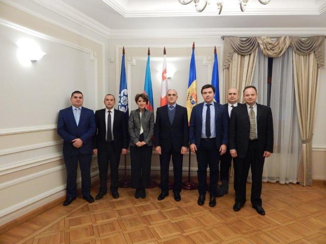 в Секретариате ГУАМ в Киеве под председательством Украинской стороны состоялось 13-е заседание Рабочей группы по транспорту