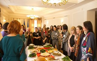 Reception and Presentation «Tastes, Colours and Traditions of Novruz»