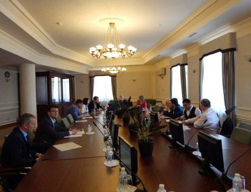 9-е заседание Рабочей подгруппы ГУАМ по правовой статистике
