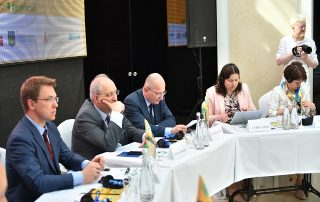 GUAM Program Coordinator took part in the 3rd International Festival of Arts «Carpathian Space»