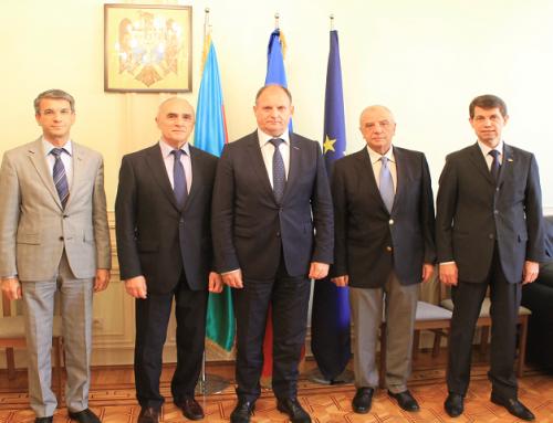 Встреча представителей государств-членов ГУАМ в Посольстве Республики Молдова в Азербайджанской Республике