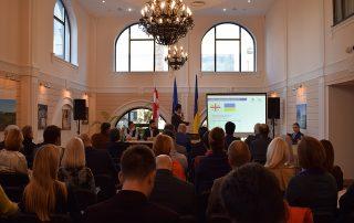 Координатор программ Секретариата ГУАМ принял участие в презентации Свободной индустриальной зоны Кутаиси