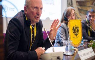 Координатор программы ГУАМ принял участие в Forum of Mitteleuropa Cultural Association