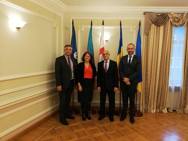 Встреча Генерального секретаря ГУАМ с директором по вопросам Восточной Европы и Евразии Global Affairs Canada