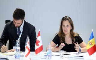 1-я встреча СМИД ГУАМ - Канада