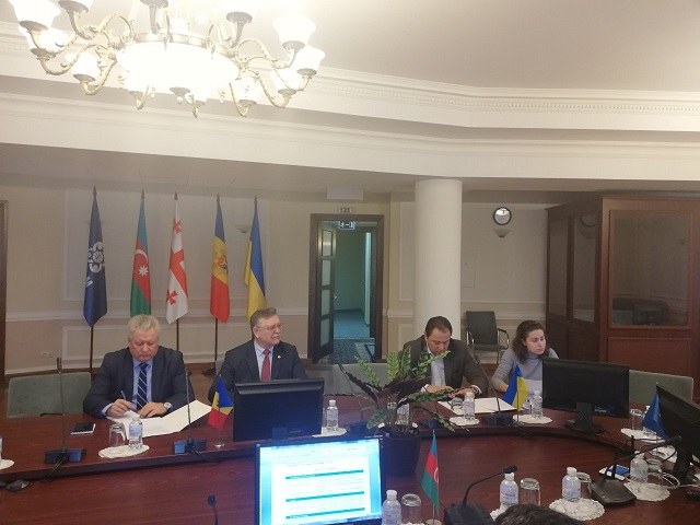 1-е заседание высокого уровня представителей дипломатических академий и институтов при МИД государств-членов ГУАМ