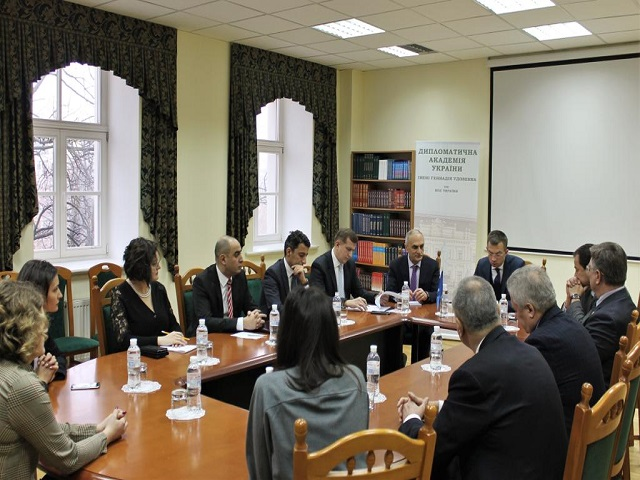 1st high-level Meeting of representatives of Diplomatic Academies and Institutions at the MFA of the GUAM Member States