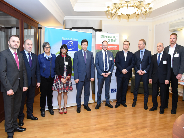 Regional Workshop «Together against the manipulation of sports competitions»