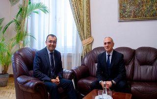 Встреча Генерального секретаря ГУАМ с заместителем министра иностранных дел Украины